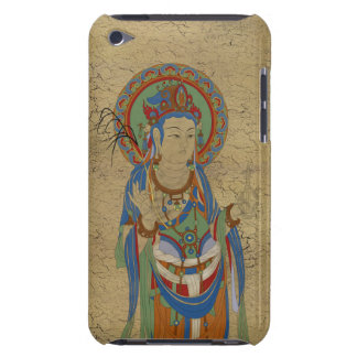 iPod Touch4G - Guan Yin Buddha Crackle Background iPod Case-Mate Cases