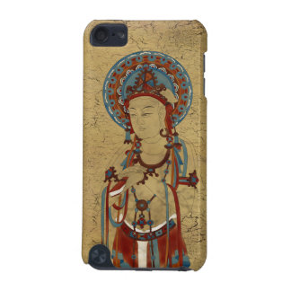 iPod Touch4G - Scripture Buddha Crackle Background iPod Touch 5G Cover