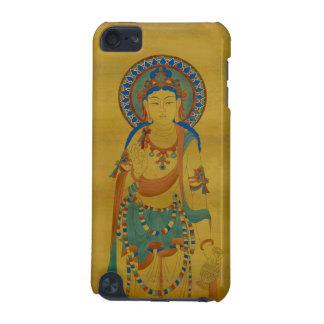iPod Touch4G - Vitarka Mudra Buddha Bamboo Backg iPod Touch (5th Generation) Cover