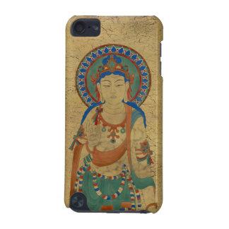 iPod Touch4G - Vitarka Mudra Buddha Crackle Backg iPod Touch 5G Cover
