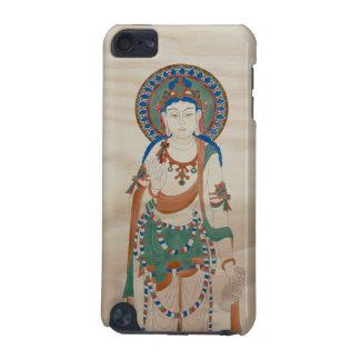 iPod Touch4G - Vitarka Mudra Buddha Doug Fir Backg iPod Touch (5th Generation) Case