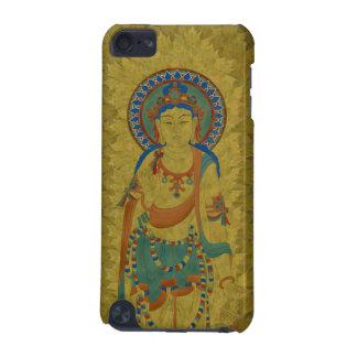 iPod Touch4G - Vitarka Mudra Buddha Maple Leaf iPod Touch 5G Case