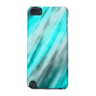 iPod Touch 5g, abstract art, light blue iPod Touch 5G Covers