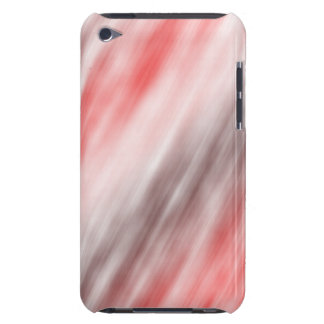 iPod Touch 5g, abstract art, red Barely There iPod Cover