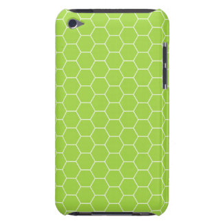 iPod Touch Acid Green Honeycomb Pattern Case-Mate iPod Touch Cases
