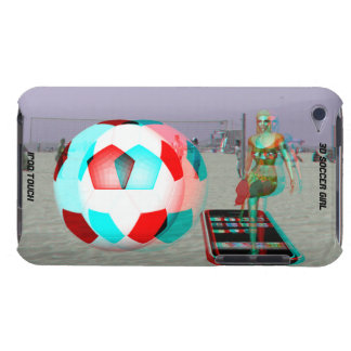 iPod Touch Case-Mate 3D Soccer Girl Case-Mate iPod Touch Case