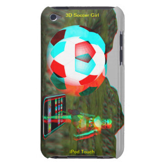 iPod Touch Case-Mate 3D Soccer Girl iPod Case-Mate Case