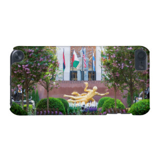 iPod Touch Case - Rockefeller Center in Spring