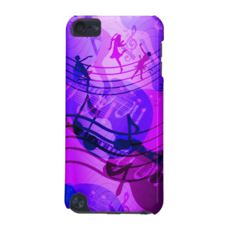 iPod Touch Music Notes Blue Pink iPod Touch (5th Generation) Cases