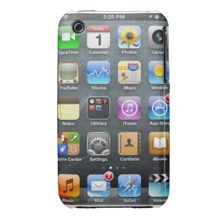 ipod touch screen iPhone 3 Case-Mate case