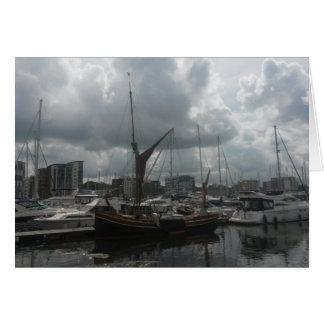 Ipswich Waterfront Greeting Card