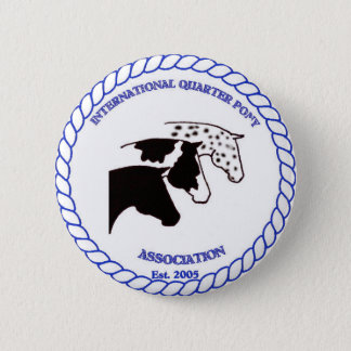 IQPA Quarter Pony Registry Gifts 6 Cm Round Badge