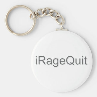 iRageQuit Rage Quitting Gamer Key Ring