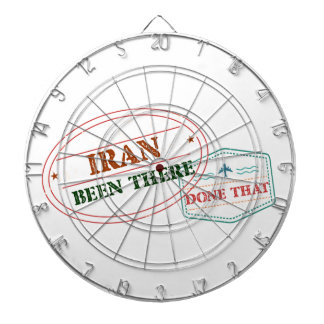 Iran Been There Done That Dartboard