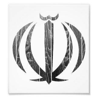 Iran Coat Of Arms Photo Art