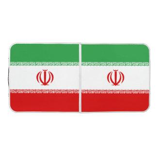 Iran Flag Beer Pong Table