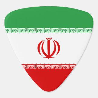 Iran Flag Guitar Pick