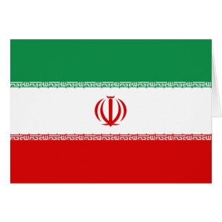 Iran Flag Notecard Greeting Cards