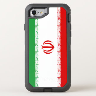 Iran Flag OtterBox Defender iPhone 8/7 Case