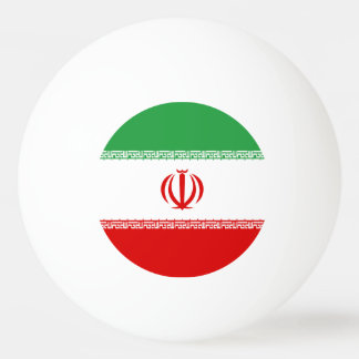 Iran Flag Ping Pong Ball