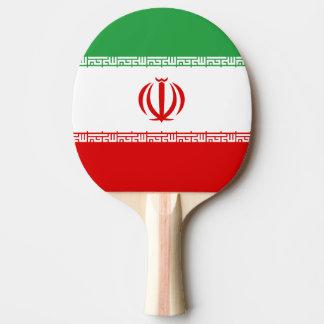 Iran Flag Ping Pong Paddle