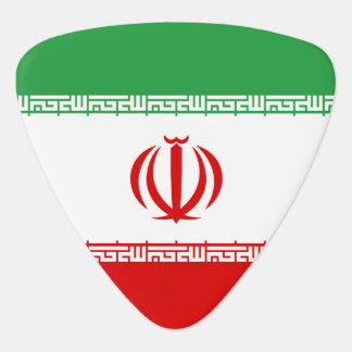 Iran Flag Plectrum