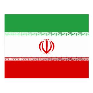 Iran Flag Postcard