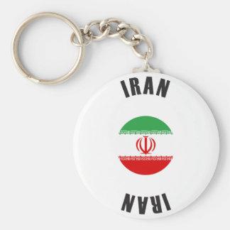 Iran Flag Wheel Key Ring