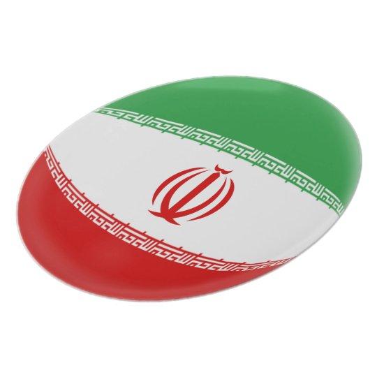 Iran Iranian Flag Plate