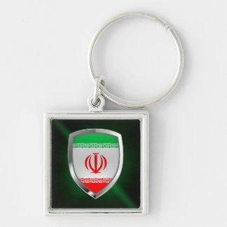 Iran Metallic Emblem Key Ring