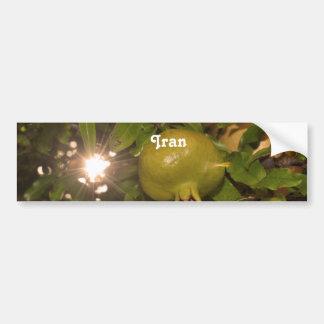 Iran Pomegranate Bumper Stickers