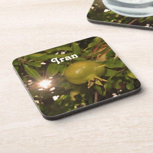 Iran Pomegranate Beverage Coaster