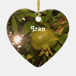 Iran Pomegranate Christmas Ornaments