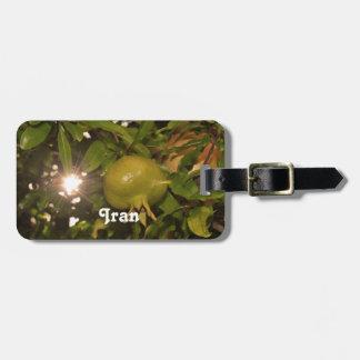 Iran Pomegranate Luggage Tags