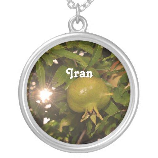 Iran Pomegranate Custom Jewelry
