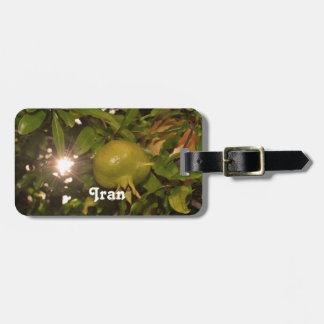 Iran Pomegranate Tag For Luggage