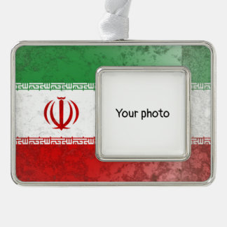 Iran Silver Plated Framed Ornament