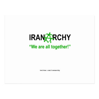 Iranarchy Postcard