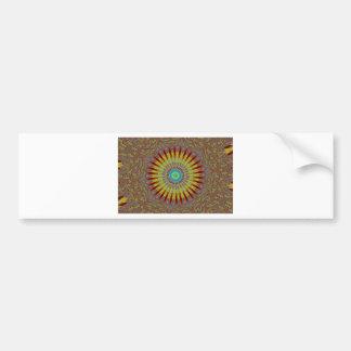 Iranian carpet  African ethnic tribal pattern.jpg Bumper Sticker