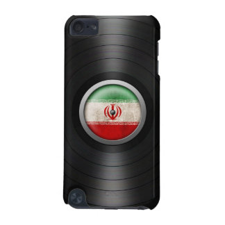 Iranian Flag Vinyl Record Album Graphic iPod Touch 5G Cover