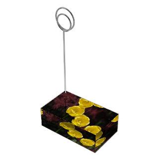 Iranian Tulip Table Card Holders