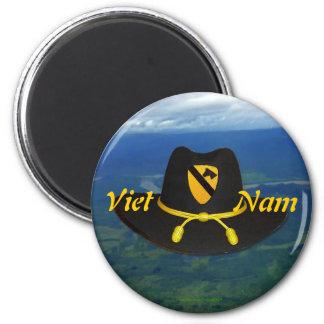 iraq 1st cavalry vietnam air cav patch Magnet vet