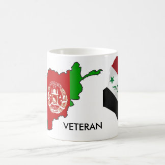 Iraq Afghanistsan Veteran Basic White Mug