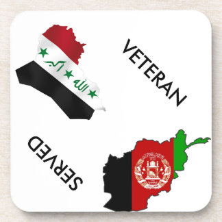 Iraq Afghanistsan Veteran Coaster
