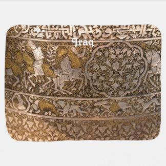 Iraq Art Buggy Blanket