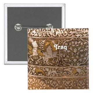 Iraq Art Pinback Buttons