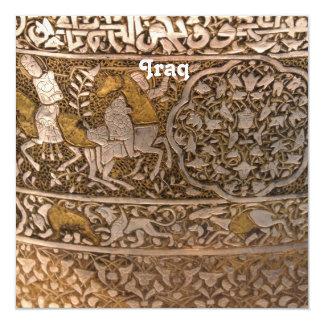 Iraq Art Personalized Invite