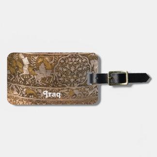 Iraq Art Bag Tag