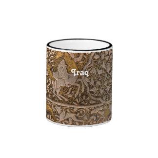 Iraq Art Ringer Mug