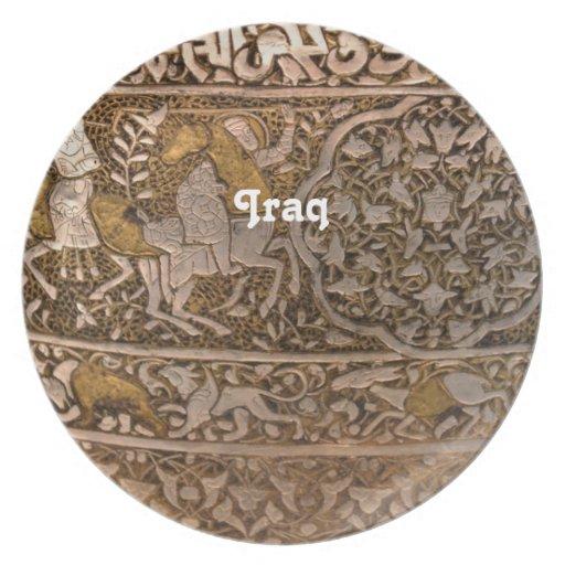 Iraq Art Dinner Plate
